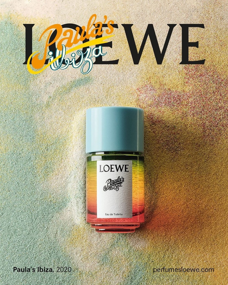 Imagery of Loewe Paula's Ibiza fragrance by photographer Nacho Alegre.