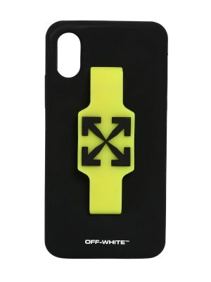 Logo Iphone X/xs Cover W/ Finger Grip