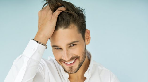 Male Model Smiling