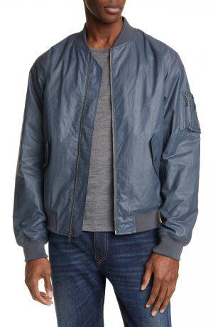 Men's John Elliott Tomba Bogota Bomber Jacket, Size Small - Blue
