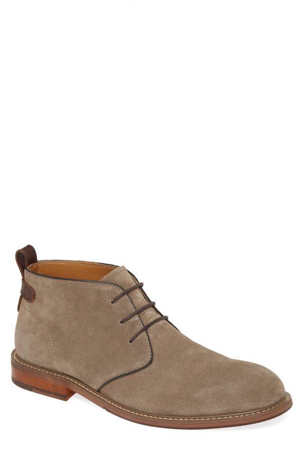 Men's Nordstrom Men's Shop Ridge Chukka Boot, Size 10.5 M - Grey