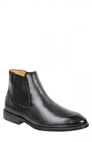 Men's Sandro Moscoloni Lenard Chelsea Boot, Size 10 D - Grey