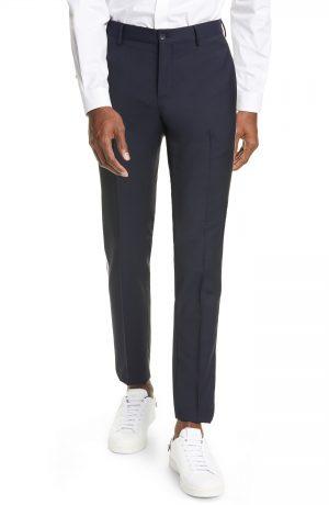 Men's Valentino Track Ankle Pants, Size 46 EU - Blue