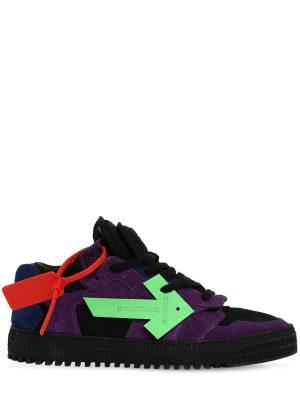 Off Court Low-top Suede Sneakers