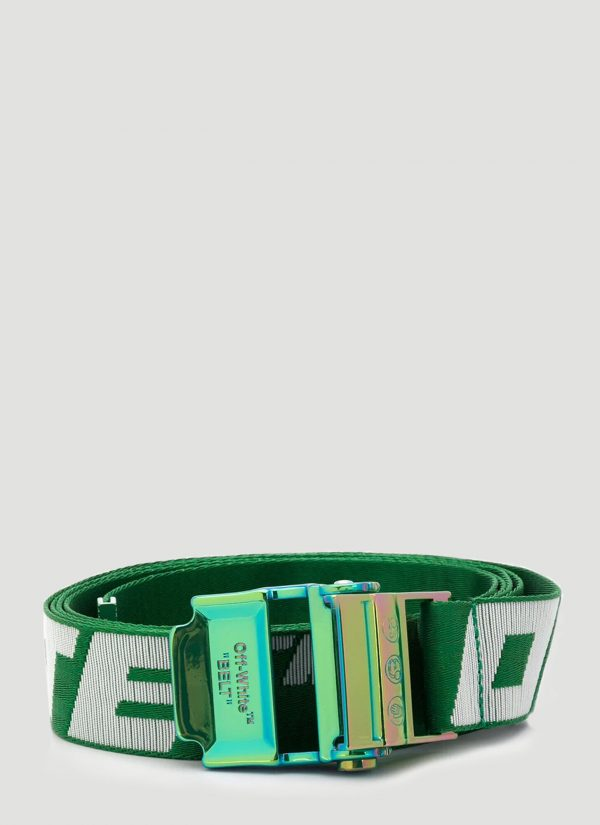 Off-White 2.0 Industrial Belt in Green size One Size