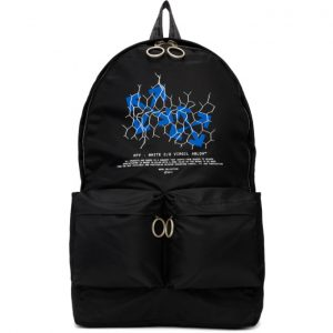 Off-White Black Fence Arrows Backpack