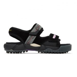 Off-White Black Oddsy Minimal Trekking Sandals