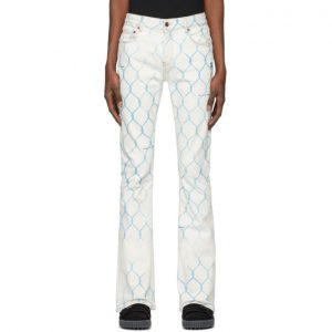 Off-White Off-White Fence Stacked Skinny Jeans