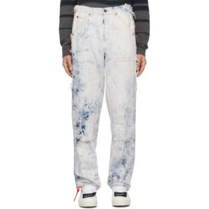 Off-White Off-White Reconstructed Carpenter Jeans