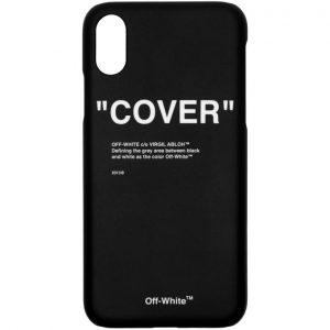 Off-White SSENSE Exclusive Black Quote iPhone 11 Pro Case