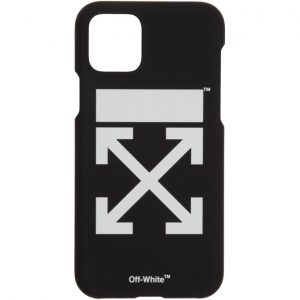 Off-White SSENSE Exclusive Black and White Arrows iPhone 11 Pro Case