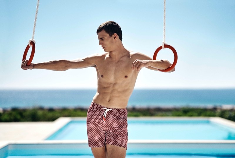 American Riviera: Julian, Sean + More Front Orlebar Brown High Summer '20 Campaign