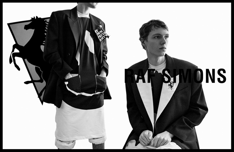 Willy Vanderperre photographs Daan Duez for Raf Simons' spring-summer 2020 campaign.