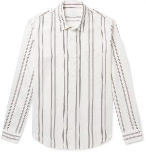 Sandro - New Flow Striped Voile Shirt - Men - White