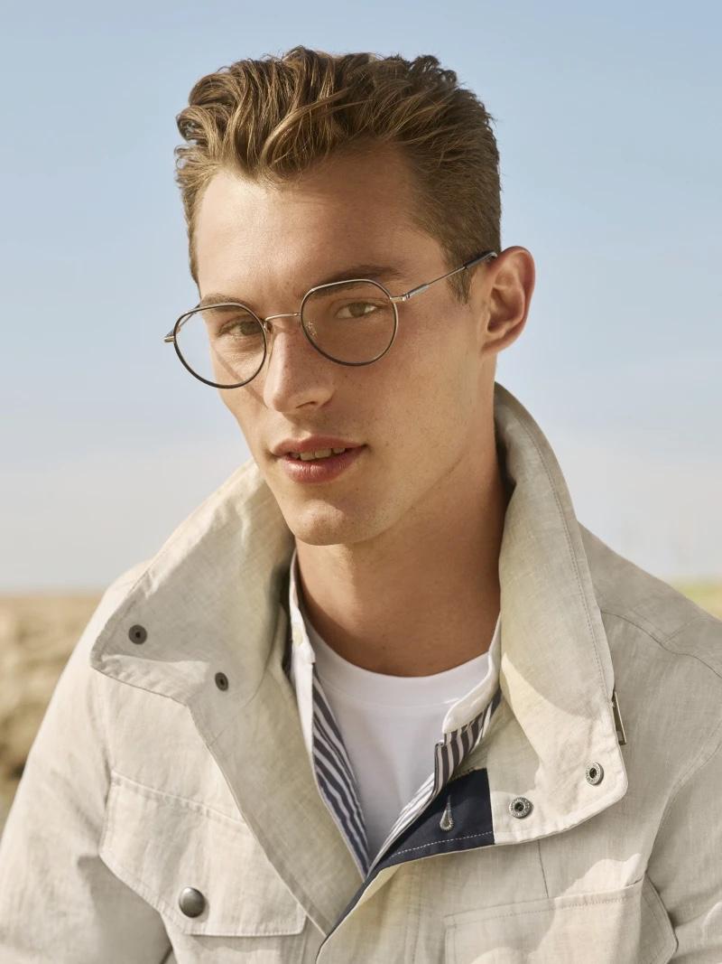Kit Butler stars in Tommy Hilfiger's spring-summer 2020 eyewear campaign.