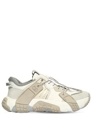 Vltn Wod Mesh & Suede Sneakers