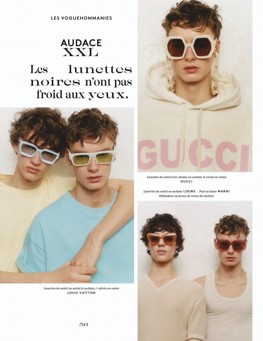 Fernando, Otto & Niks Rock Key Season Accessories for Vogue Hommes