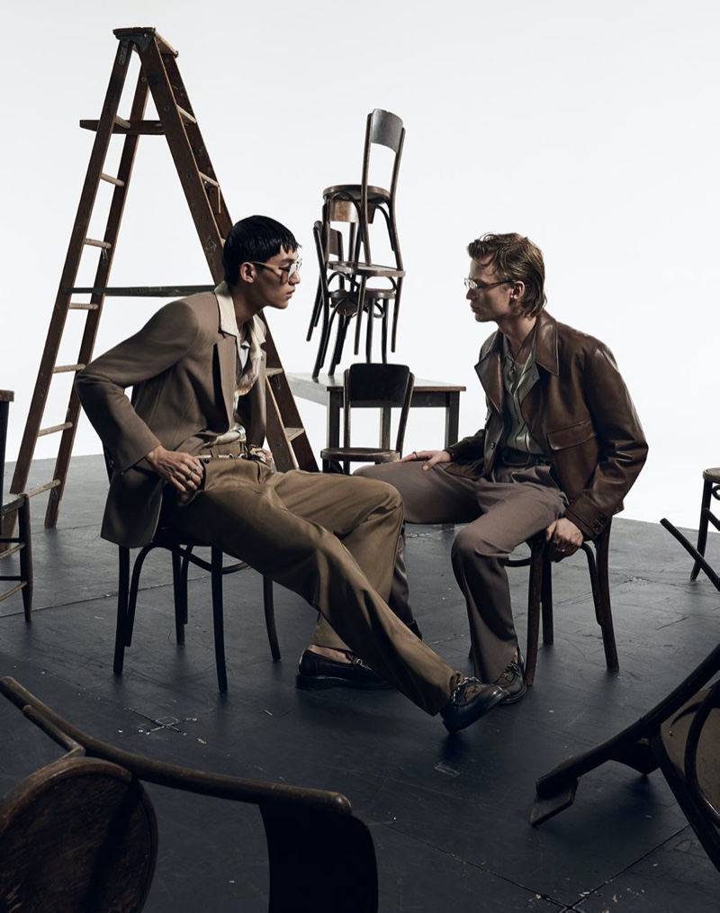 Jun Young Hwang and Jonas Glöer come together for Zara's spring-summer 2020 campaign.