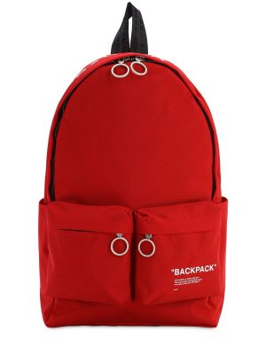 'backpack' Quote Nylon Backpack