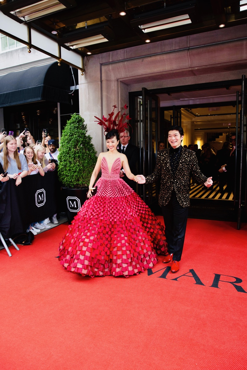 2019 Coral Chung Andrew Chung Met Gala
