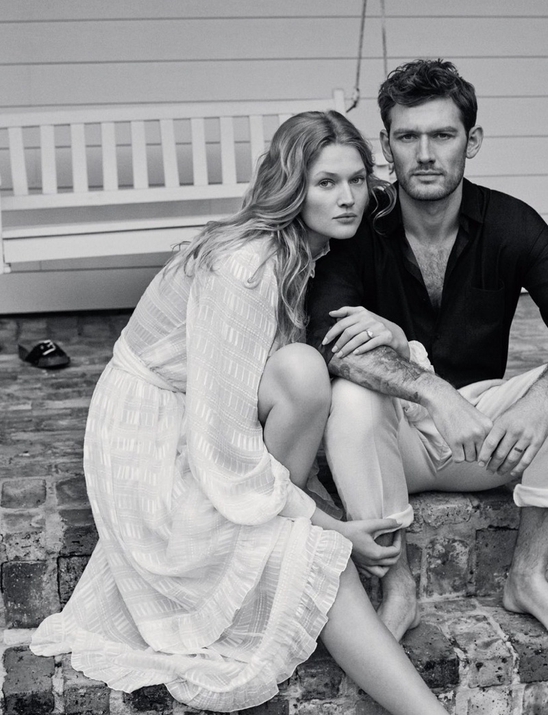 Alex Pettyfer & Toni Garrn Star in Vogue Germany Cover Shoot
