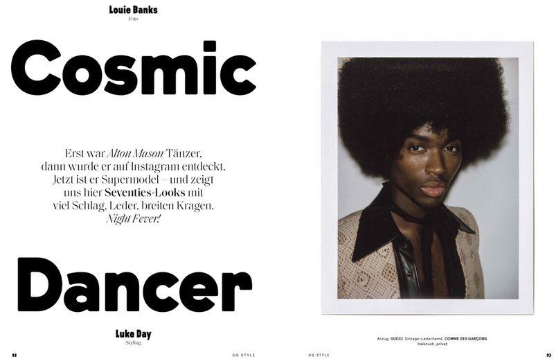 Cosmic Dancer: Alton for GQ Germany