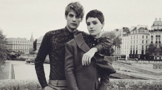 Vive L'Amour: Baptiste Couples with Loane for InStyle México
