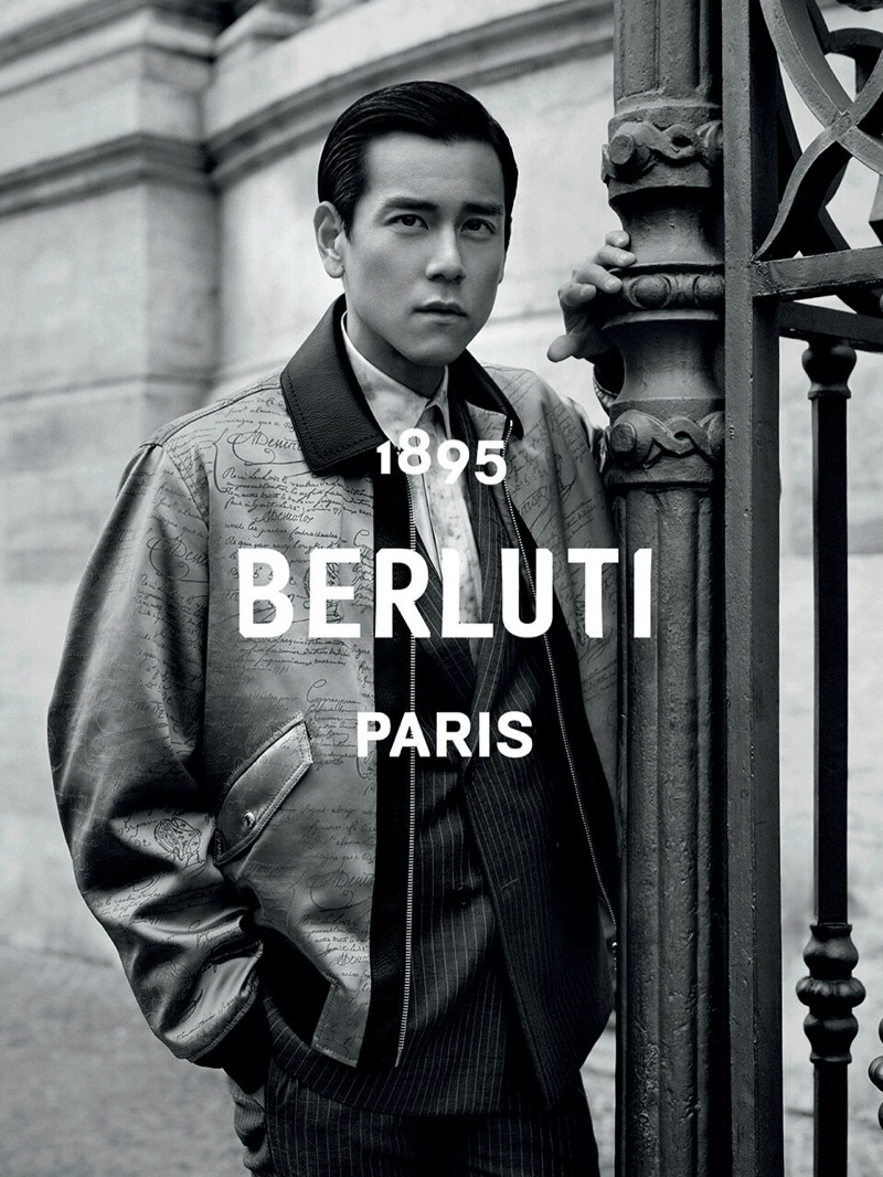 Entertainer Eddie Peng connects with Berluti as the star of its summer 2020 campaign.