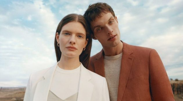 Club Monaco introduces its latest collection, which takes its inspiration from the desert.
