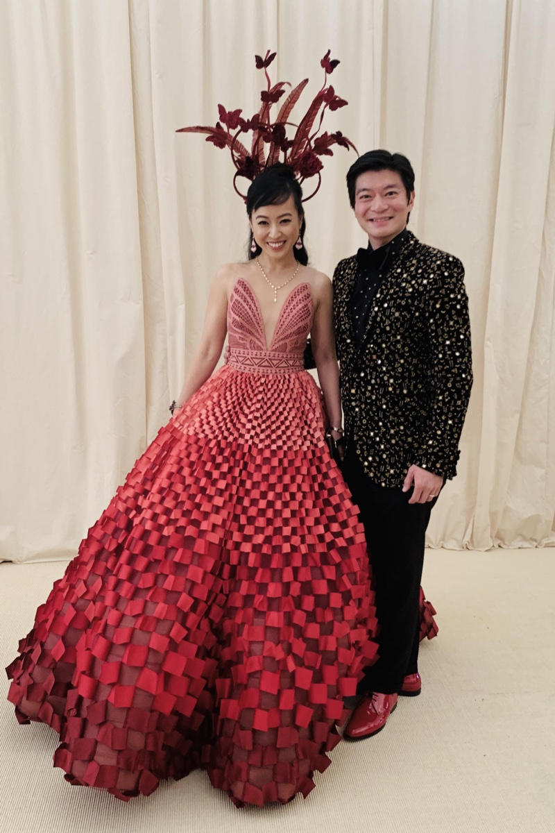 Coral Chung Andrew Chung Met Gala 2019