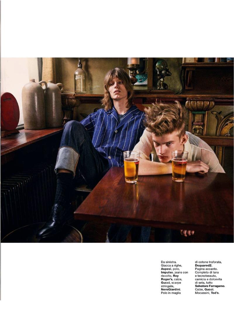 Per Sempre Amici: Freek, David & Frans for D Lui La Repubblica