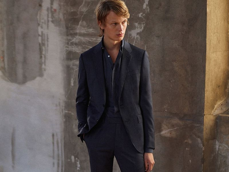 Ermenegildo Zegna enlists Jonas Glöer to model dashing look from its Made to Measure line.
