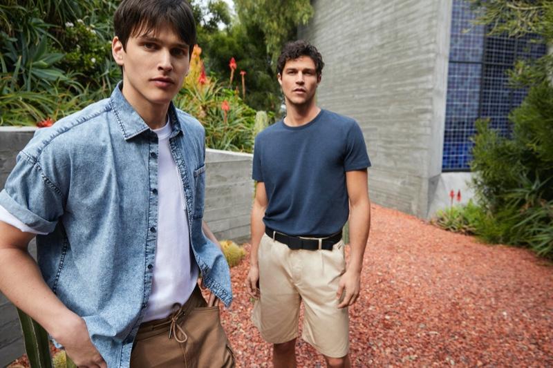 Miles & Simon Embrace Summer Style in Esprit