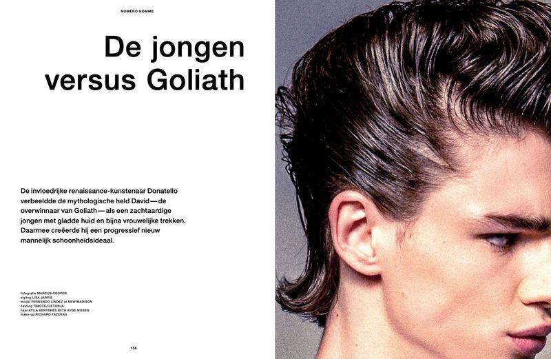 De Jongen Versus Goliath: Fernando for Numéro Homme Netherlands