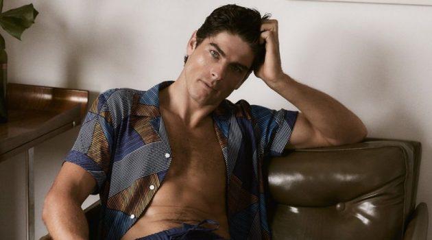 Evandro Soldati stars in Frescobol Carioca's spring-summer 2020 campaign.