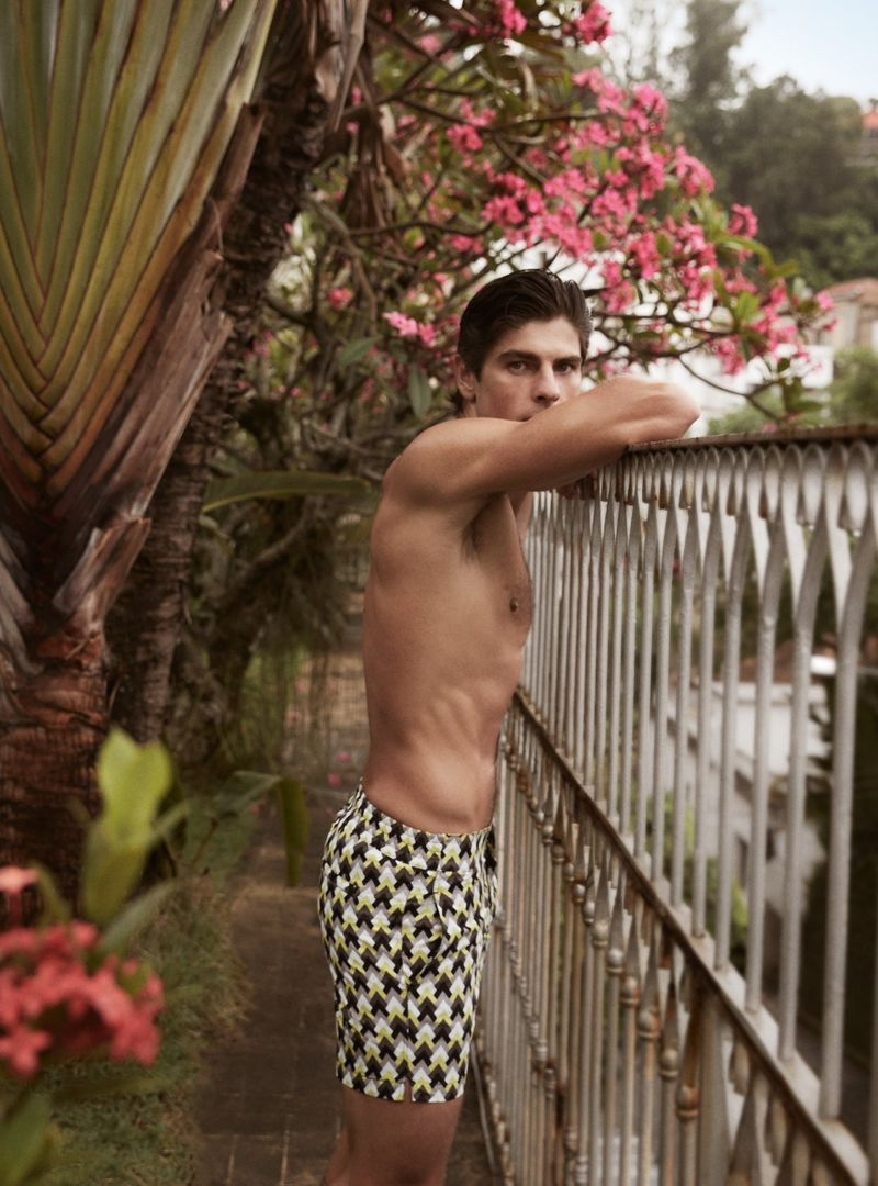 Evandro & Lucas Inspire in Poolside Style for Frescobol Carioca Summer '20 Campaign
