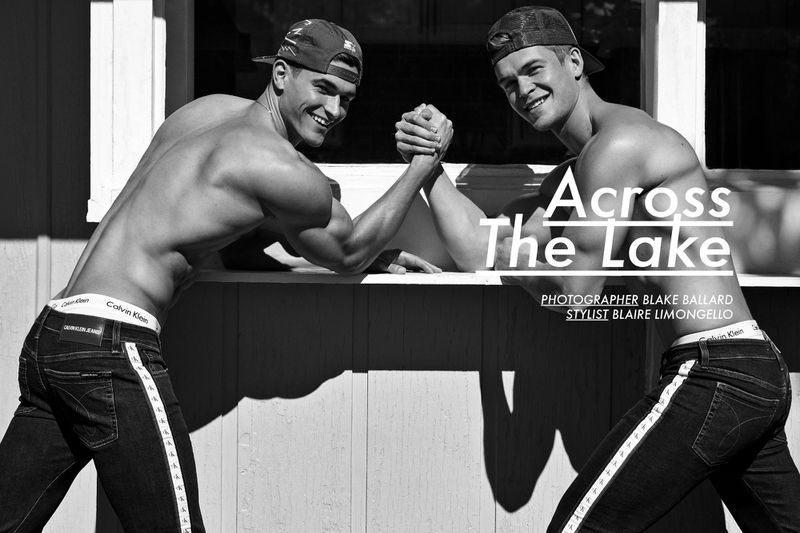 Across the Lake: Mitchell & Trevor for JON Magazine
