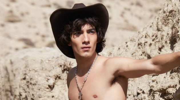 Jorge López Sports Western Style for Man About Town