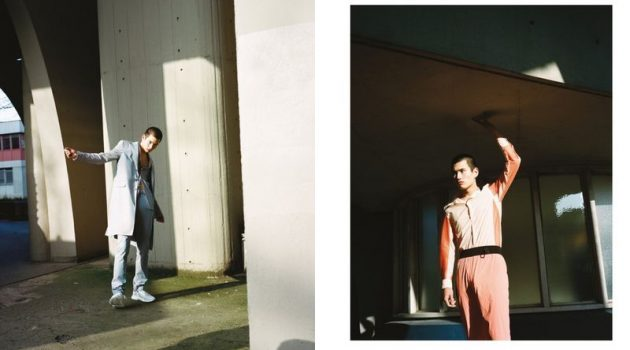 Kohei Dons Chic Pastels + More for Glass Man