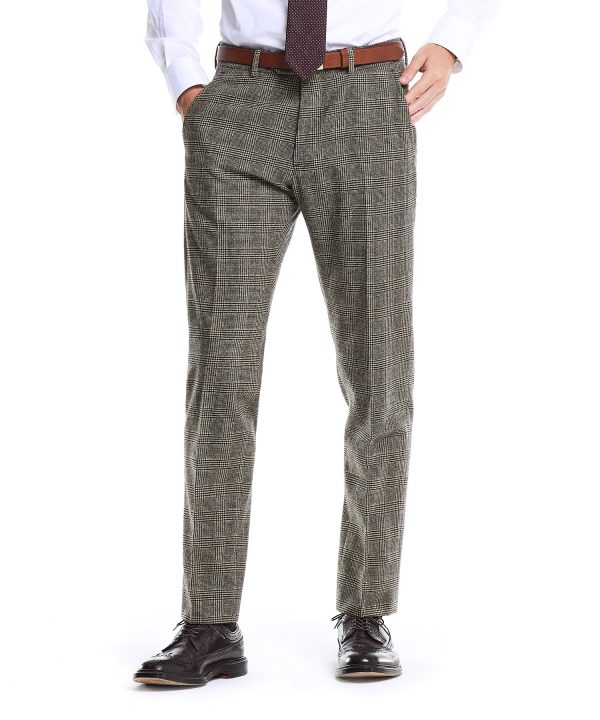 Made in USA Black Label Glen Plaid Suit Trouser