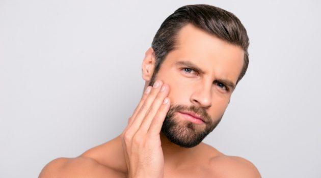 Man Clear Skin Grooming Beard Hair