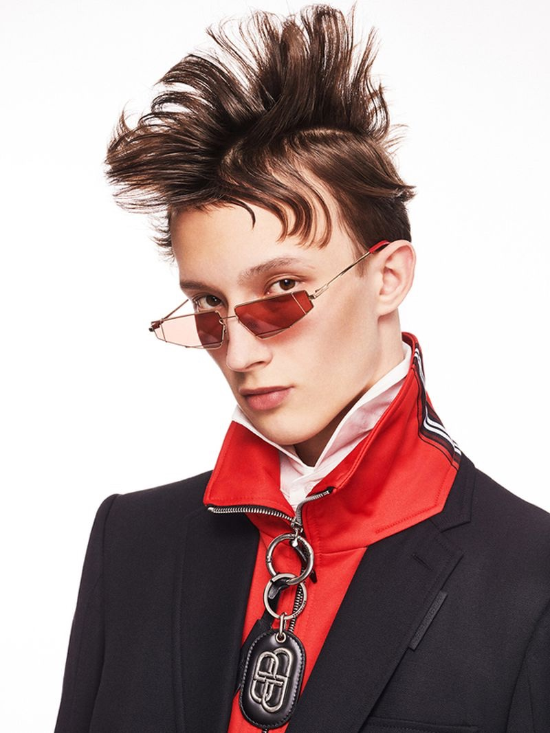 Mateusz Makes a Case for Sporty & Colorful Style in Esquire China