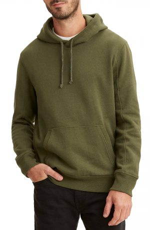 Men's Levi's Wellthread Hoodie, Size Small - Green