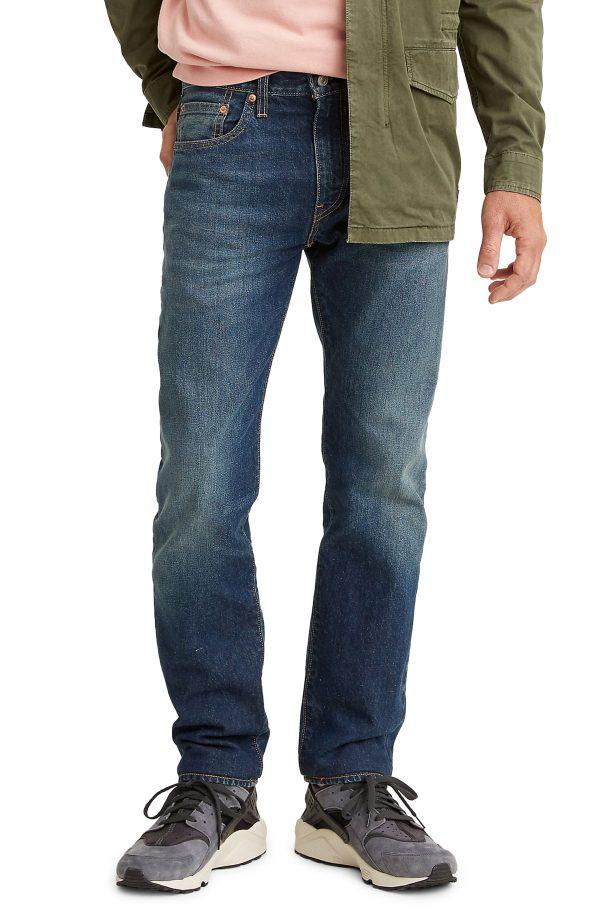 Men's Levi's Wellthread(TM) 502(TM) Regular Fit Tapered Jeans, Size 31 x 32 - Blue