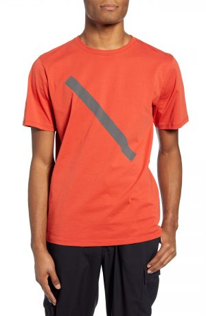 Men's Saturdays Nyc Slash Graphic T-Shirt, Size Small - Red