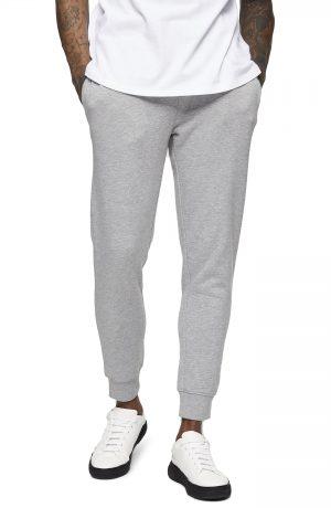 Men's Topman Dry Handle Skinny Fit Jogger Pants, Size Large - Grey