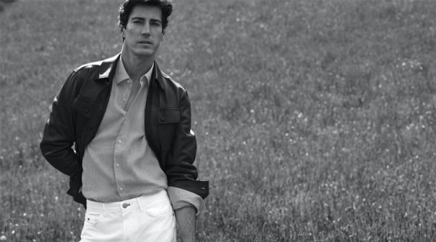 Oriol Heads Outdoors for Massimo Dutti Paper