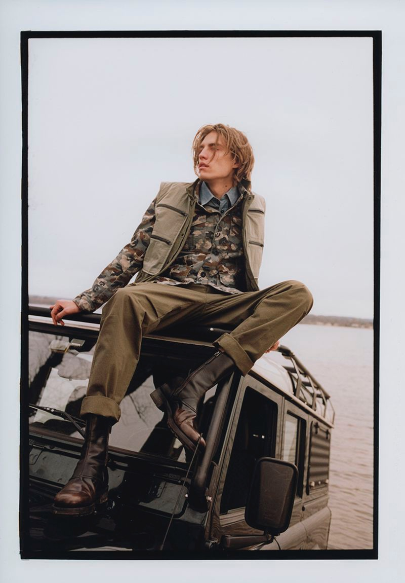 Afternoon by the Lake: Pavel for Avant Garde Magazine