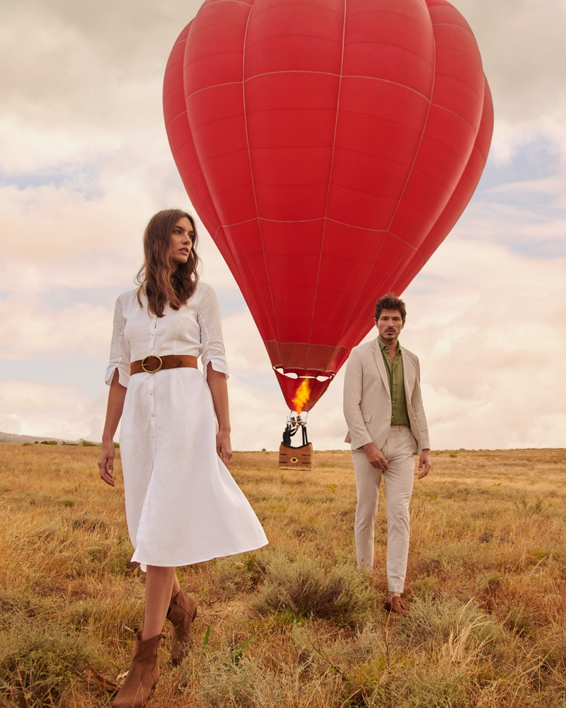 Andres Reunites with Peek & Cloppenburg for Spring '20 Campaign
