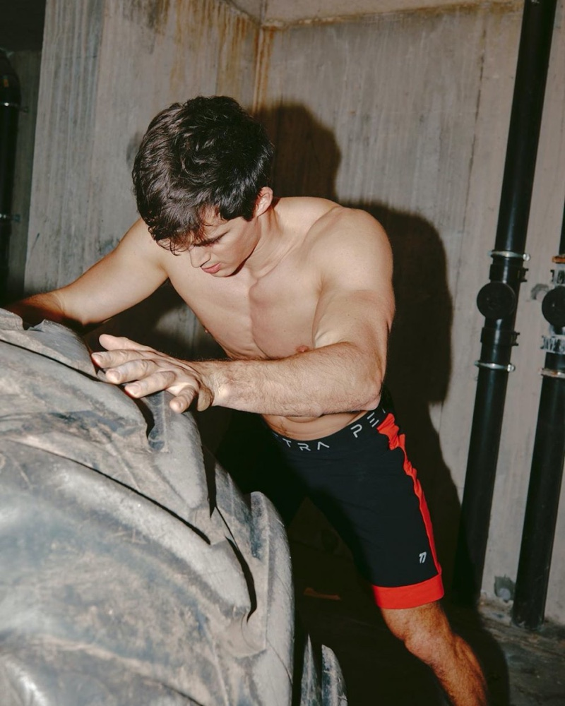 Pietro Gets in a Workout for Numéro Homme Netherlands